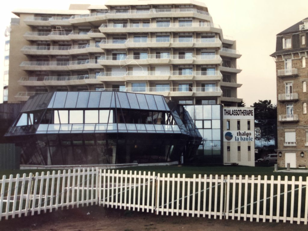 フランス・ブルターニュにあるタラソテラピーセンター全景