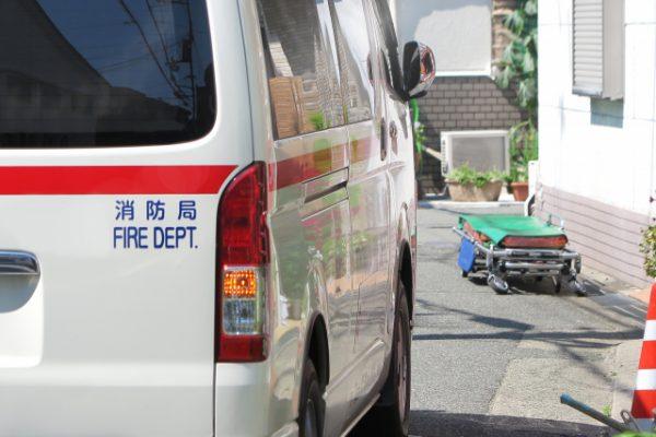 救急車とタンカー