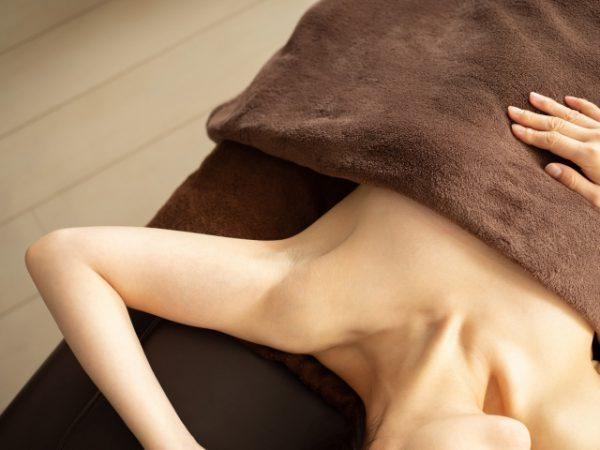 脱毛の施術イメージ