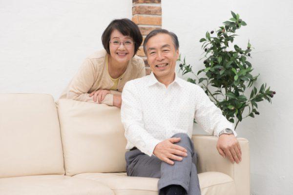 シニア世代の夫婦
