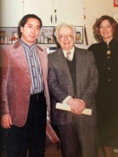 ルノー博士と記念写真